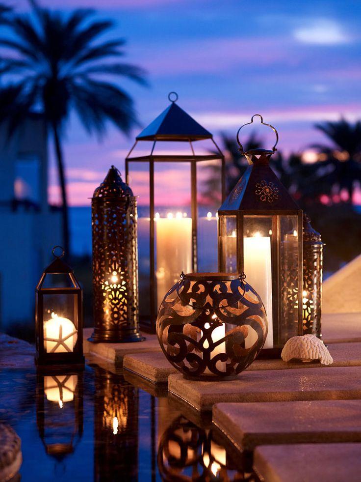 decoração de casamento com velas - luminárias 2 - revista icasei
