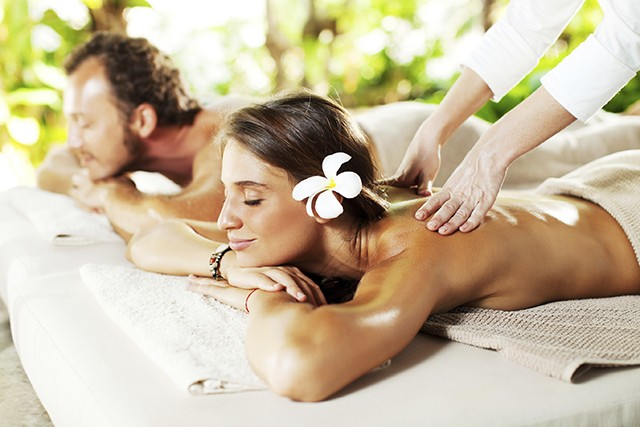 Couple receiving a back massage at a luxury spa centre. [url=http://www.istockphoto.com/search/lightbox/9786750][img]http://dl.dropbox.com/u/40117171/summer.jpg[/img][/url] [url=http://www.istockphoto.com/search/lightbox/9786786][img]http://dl.dropbox.com/u/40117171/couples.jpg[/img][/url]