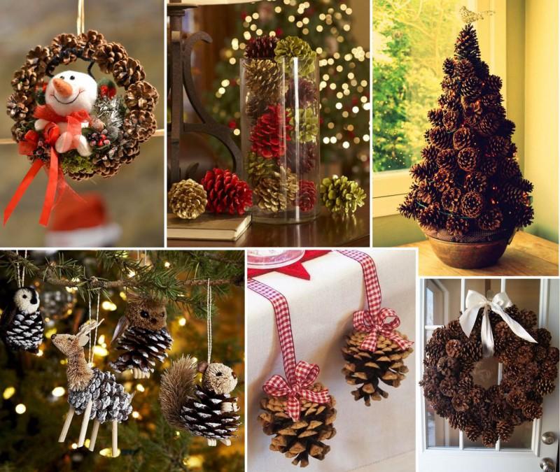 Decoração de Natal para a Casa Nova_revistaicasei_Pinha