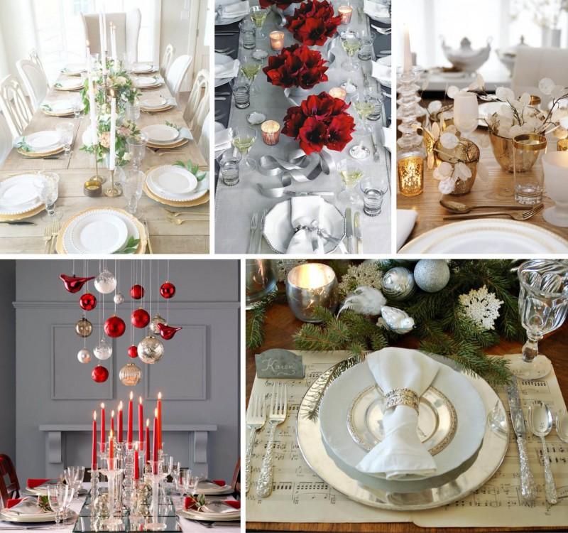 Mesa de Natal | 5 Opções de Estilo para Você se Inspirar_revistaicasei_elegante2