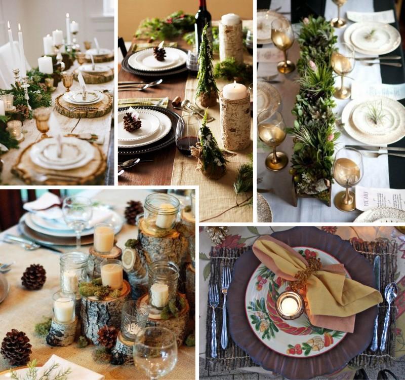 Mesa de Natal | 5 Opções de Estilo para Você se Inspirar_revistaicasei_rústica