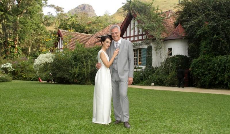 retrospectiva-casamento-de-famosos-brasileiros-em-2015-pedro-bial-e-maria-prata-revista-icasei