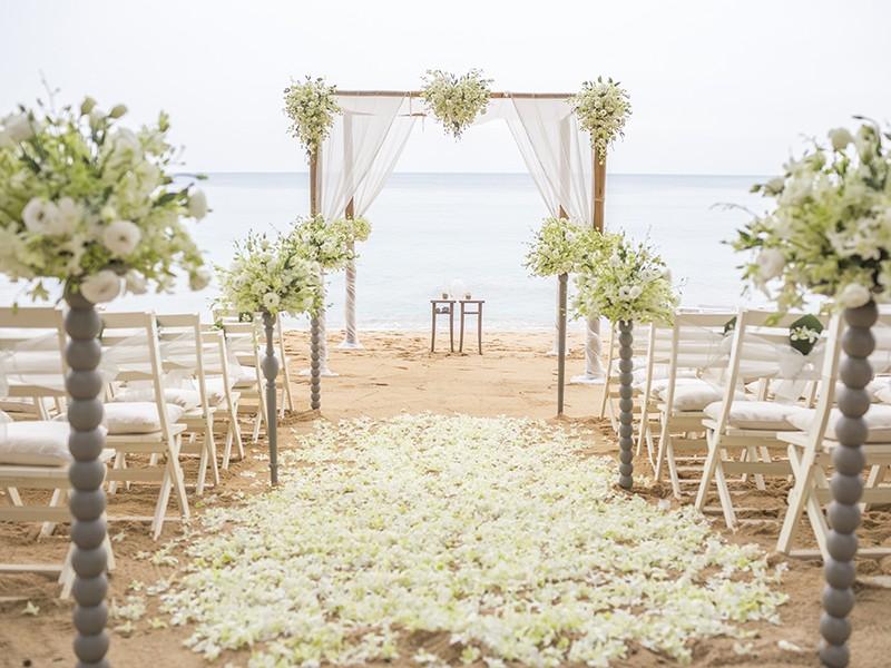 Fabuloso Casamento na Praia   3 Estilos para inspirar PY42