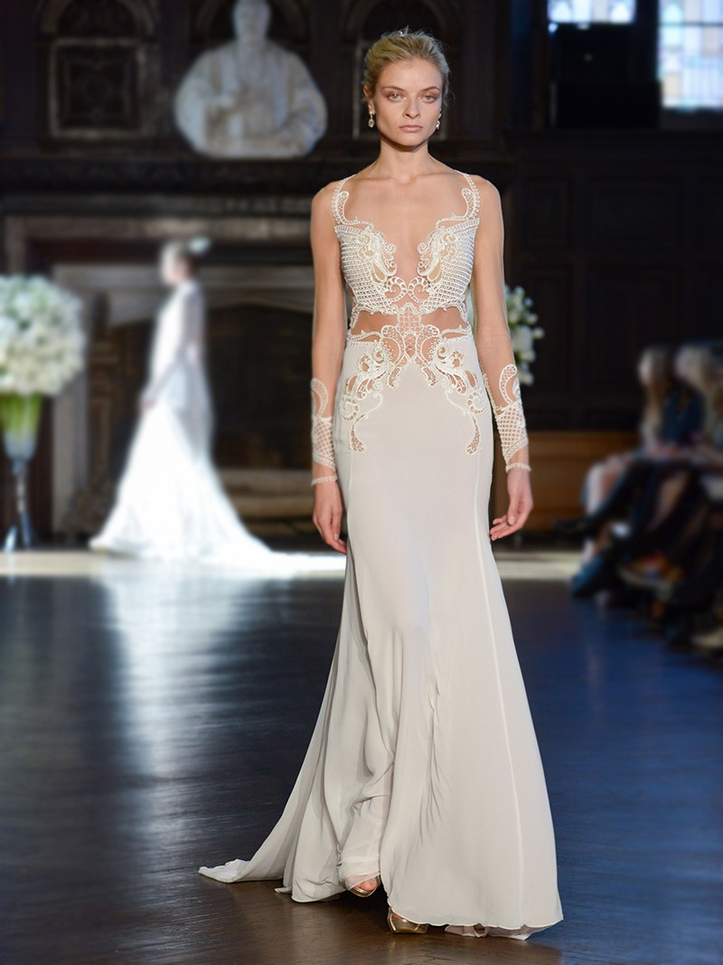 Alon Livne White, Bridal Fall 2016, New York, October 2015
