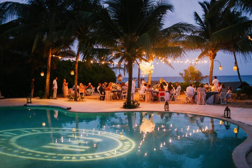 Decoração de casamento com piscina - revista icasei (1)