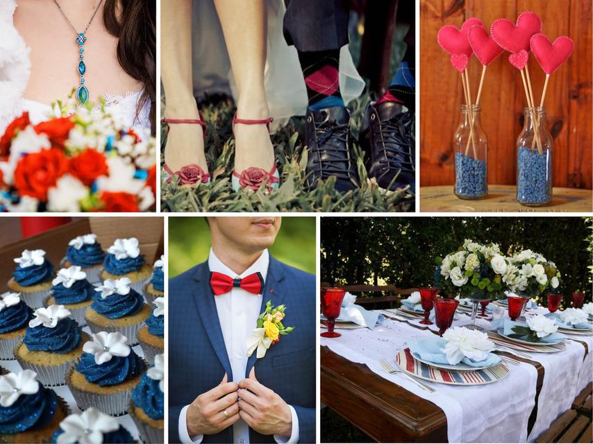 Pantone 2016 | Top 10 Cores para Casamentos_revistaicasei_azul e vermelho