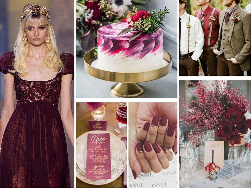 Pantone 2016 | Top 10 Cores para Casamentos_revistaicasei_marsala