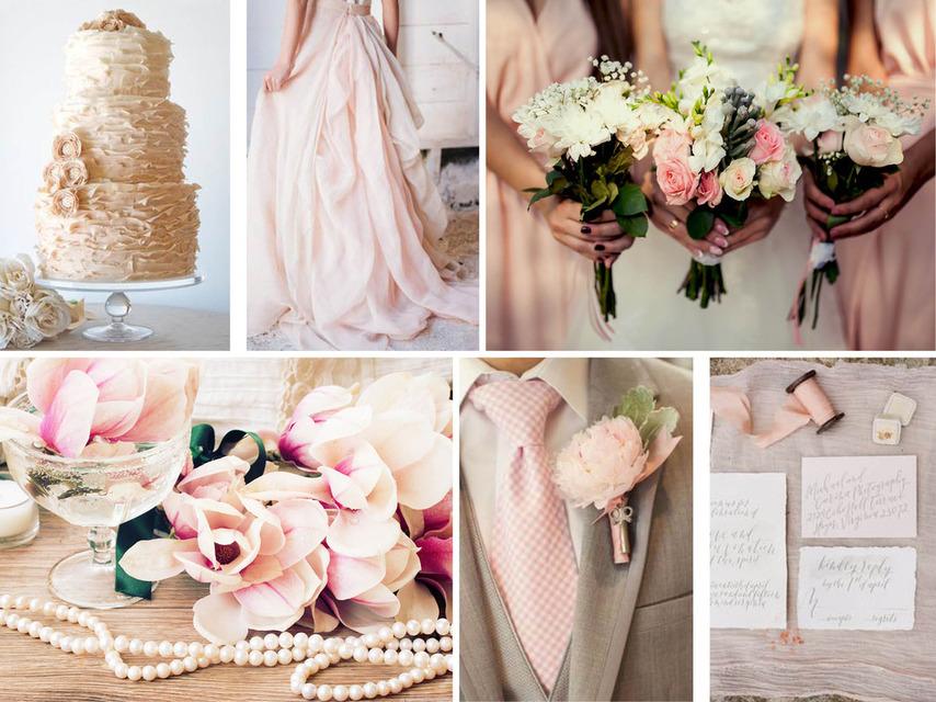 Pantone 2016 | Top 10 Cores para Casamentos_revistaicasei_rosa e marfim