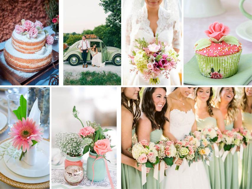 Pantone 2016   Top 10 Cores para Casamentos_revistaicasei_rosa e verde