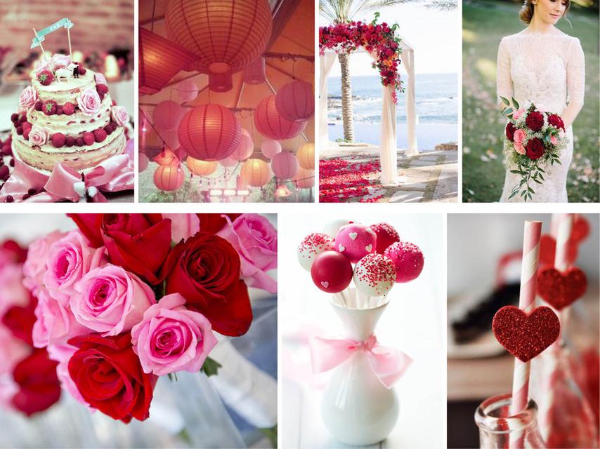 Pantone 2016 | Top 10 Cores para Casamentos_revistaicasei_rosa e vermelho