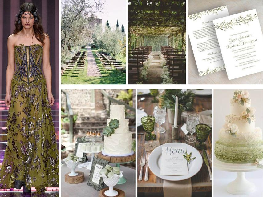 Pantone 2016 | Top 10 Cores para Casamentos_revistaicasei_verde oliva
