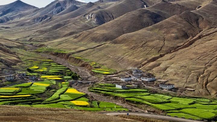 Vilarejo no Tibete - revista icasei