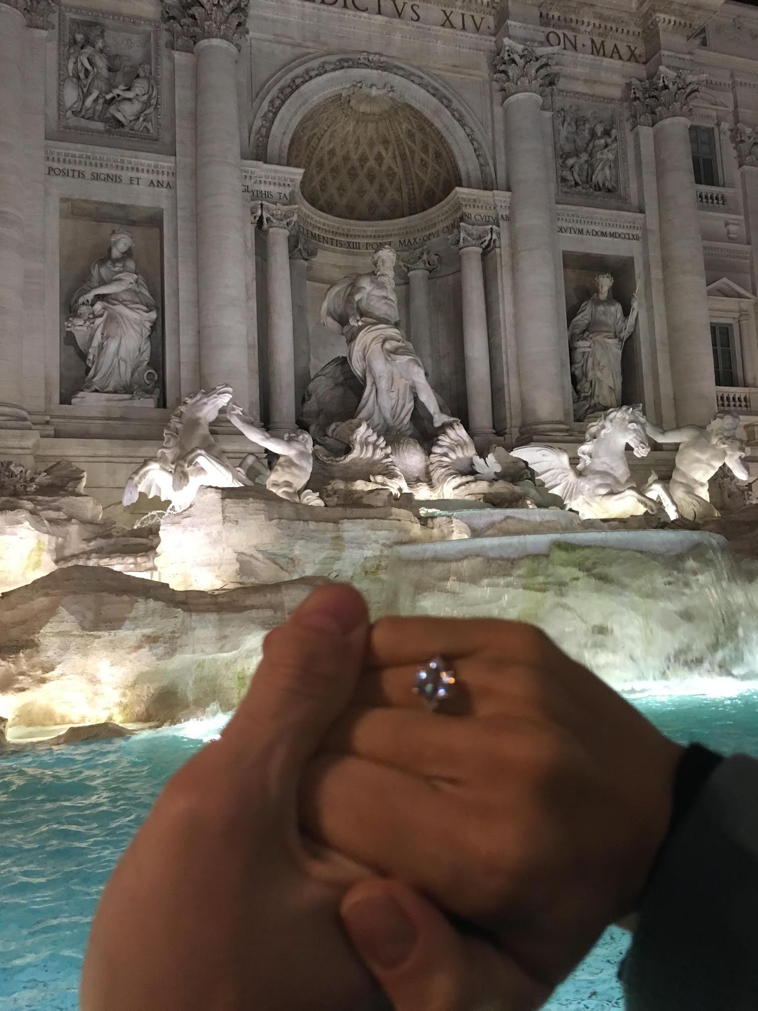 Pedido de casamento - Bianca Sayão