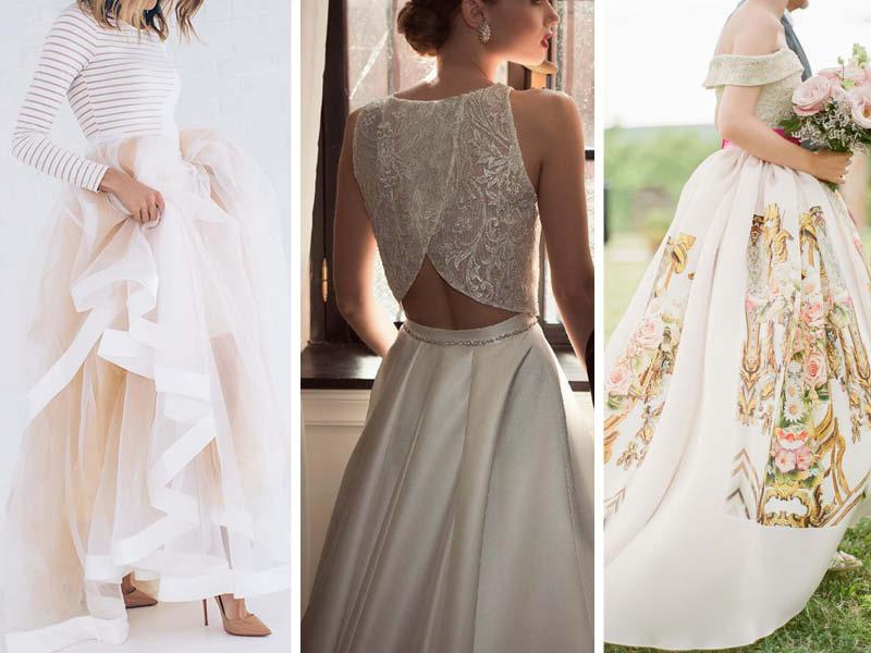 Fashion Trend | Quando o vestido da noiva não é um vestido de noiva