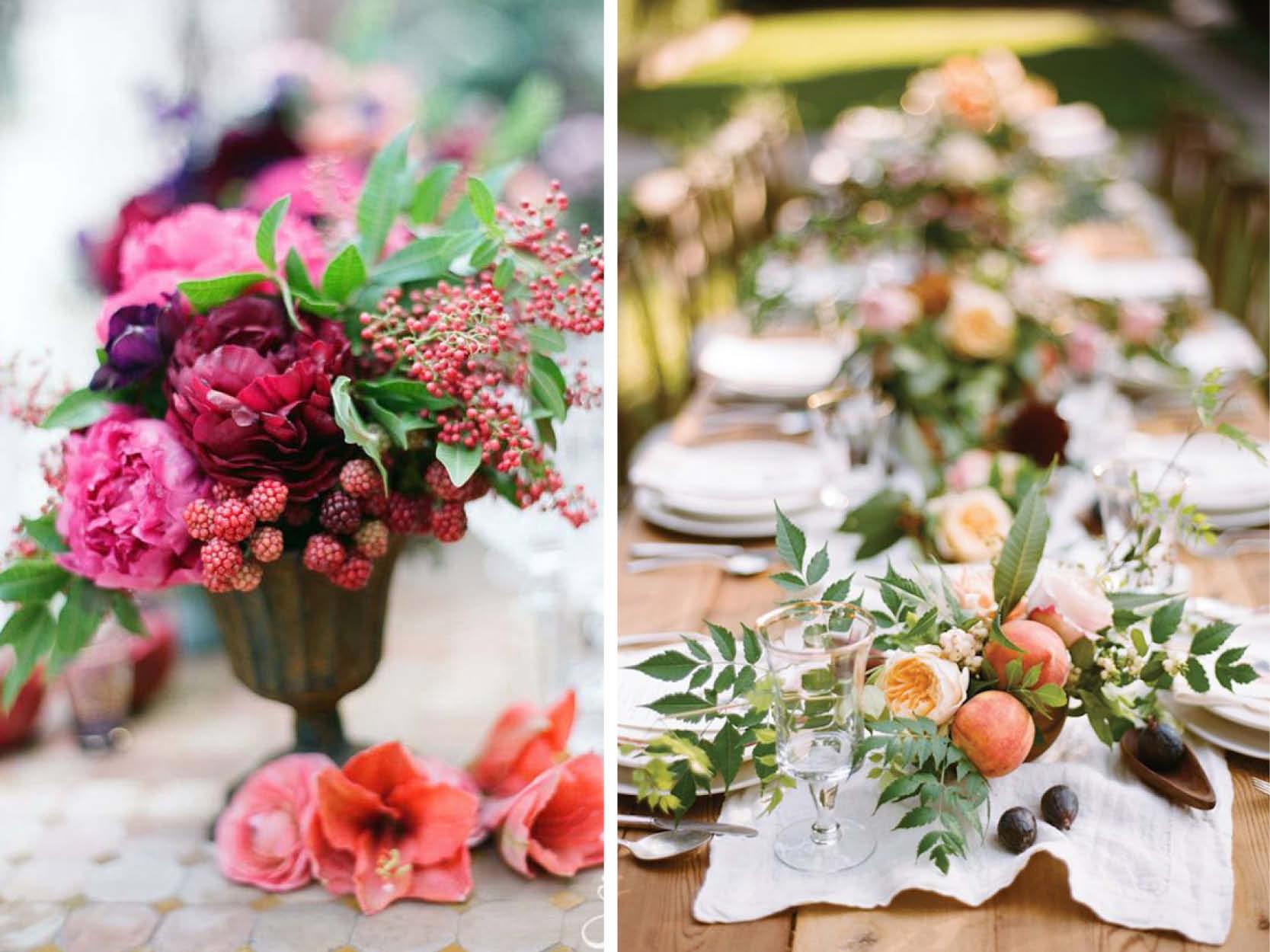 Top 28 ideias de decora o para casamento ao ar livre for Centros de mesa para restaurantes