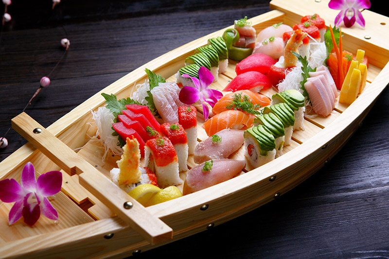 Buffet-como-inserir-japonês-no-casamento-barca