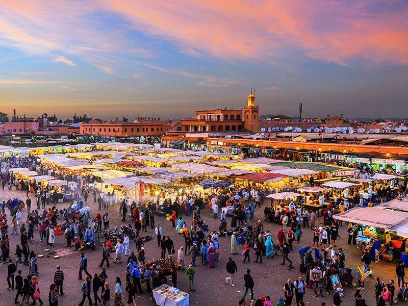 Lua-de-mel-no-Marrocos-Djemaa-el-Fna