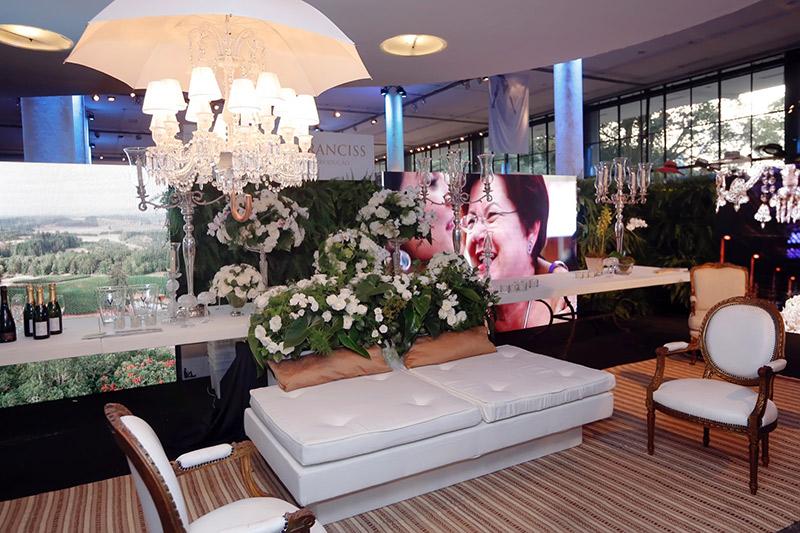 Lounge Nazi Franciss no Casamoda Noivas 2016.