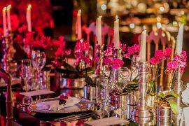Decoração-de-Casamento-com-Pink,-Marsala-e-Verde