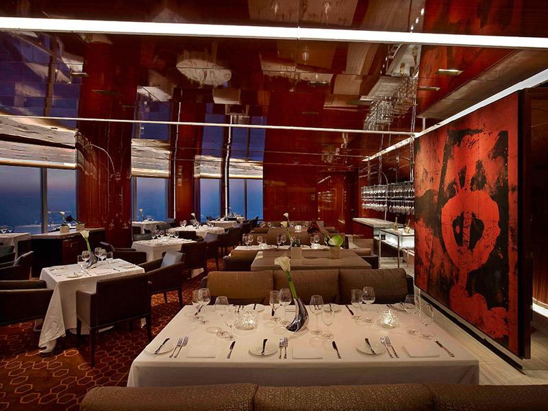 Lua-de-mel-Dubai-restaurante-atmosphere