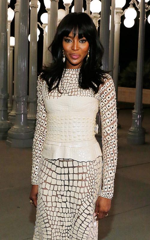 Noivas-negras-penteados-ondulado Naomi Campbell
