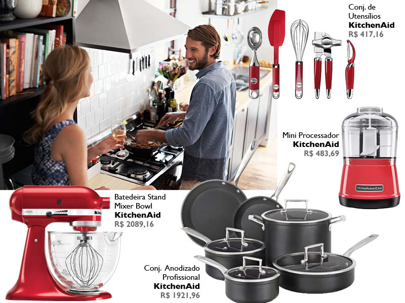 Utensílios-para-cozinha-produtos KitchenAid