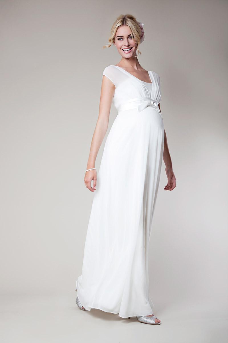 Modelos de vestido-de-noiva-grávida