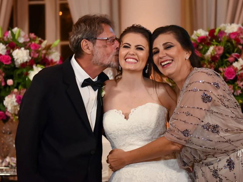 foto noiva com pais
