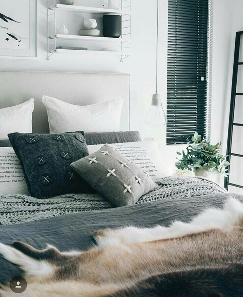 Decoração-casa-mais-aconchegante-no-inverno-cama