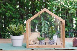 Decoração sustentável para a casa nova