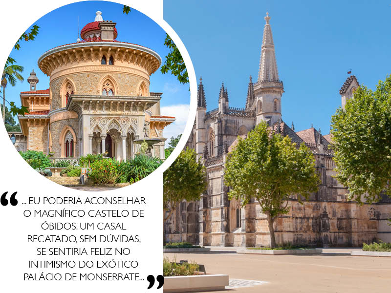 Destination Wedding em Portugal castelo