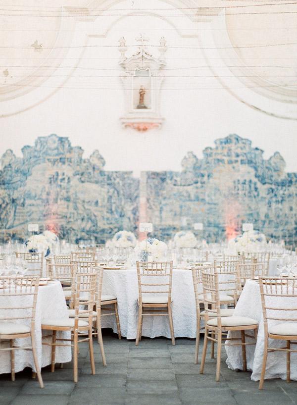 Destination Wedding em Portugal decoração