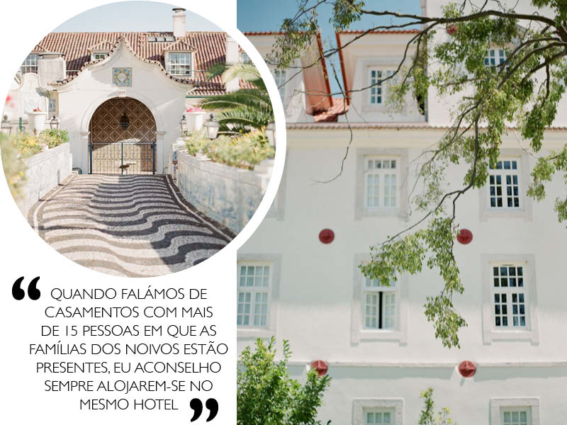 Destination Wedding em Portugal hotel