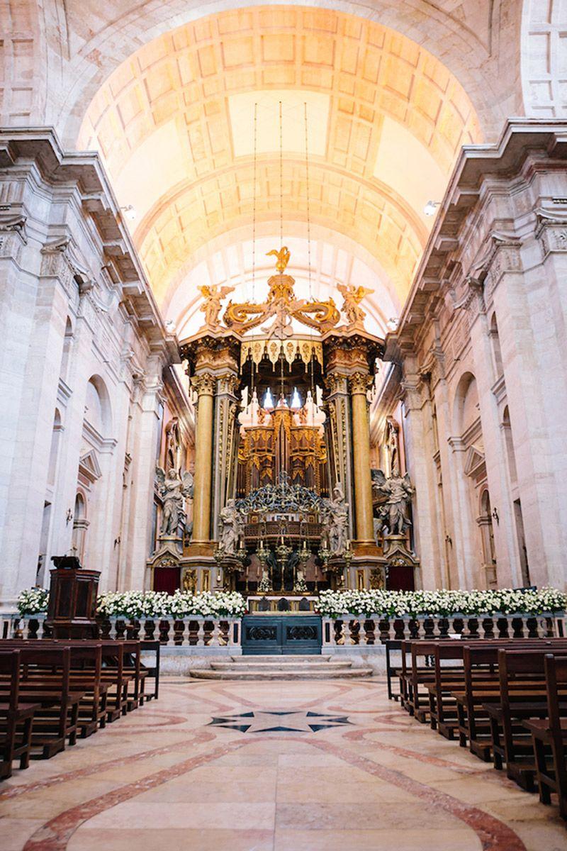 Destination Wedding em Portugal igreja