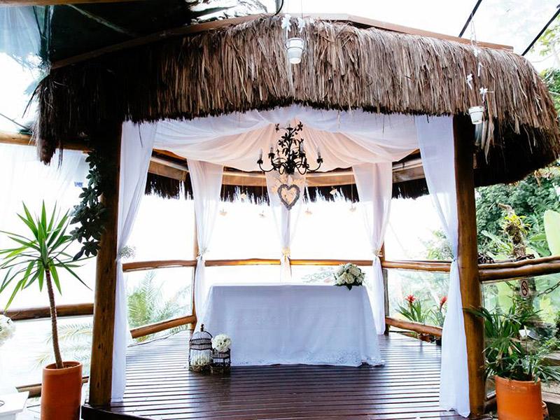 Lugares para casar em Ilhabela all mirante