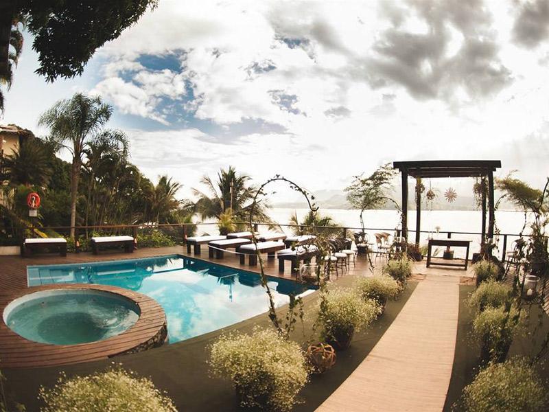 Lugares para casar em Ilhabela barra do piúva