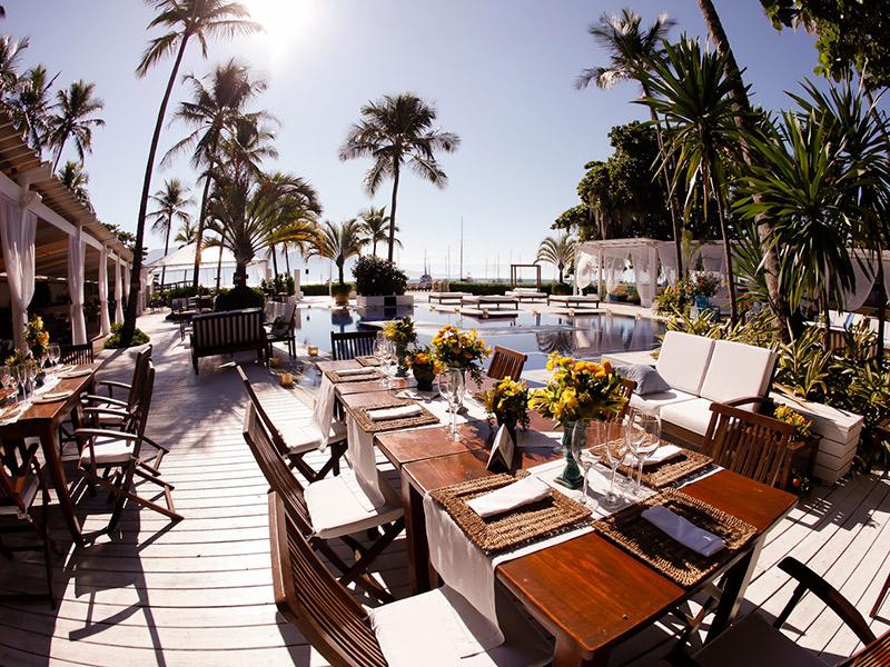 Lugares para casar em Ilhabela sea club ilhabela