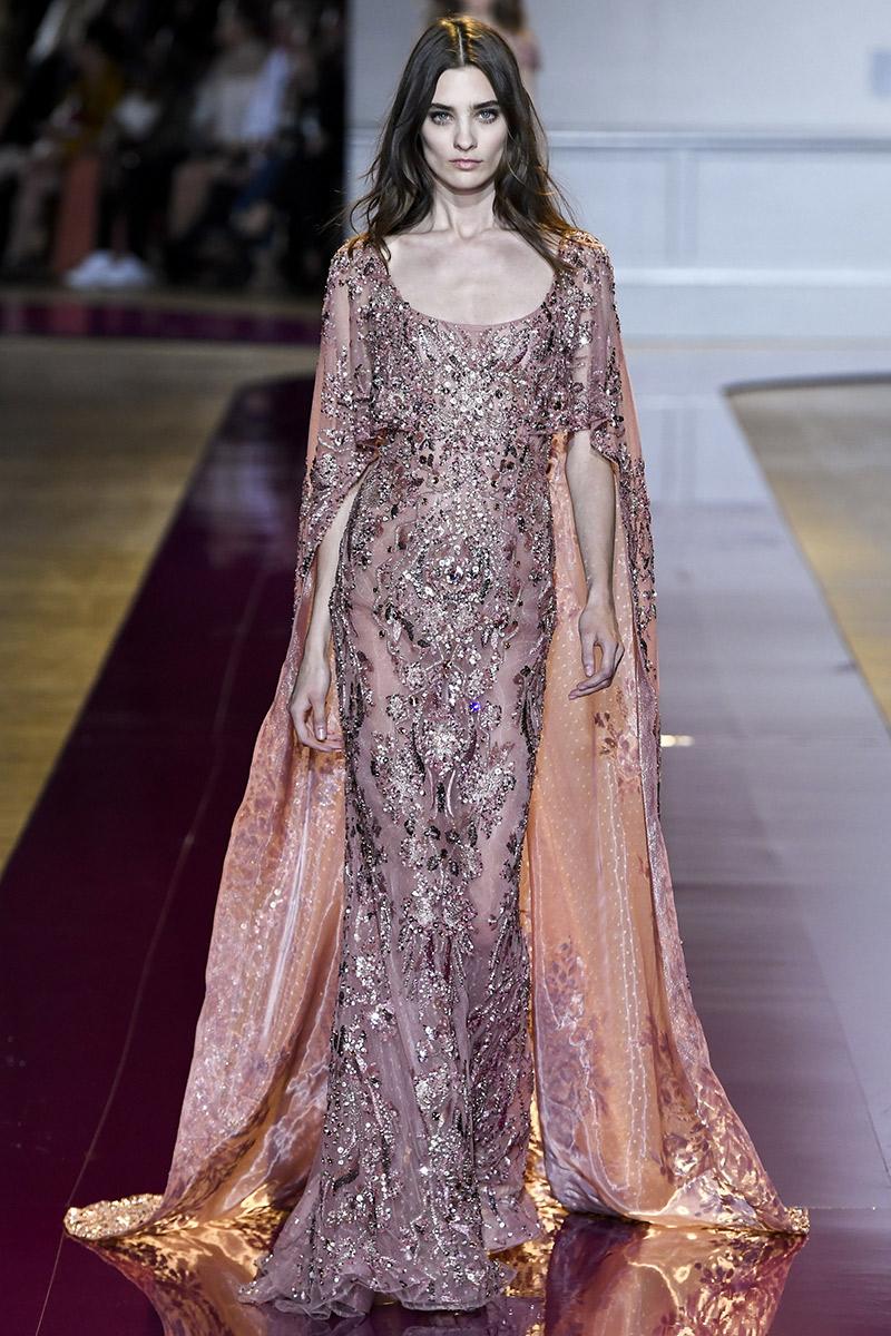 Vestido de noiva tendências 2016 Zuhair Murad pelerine