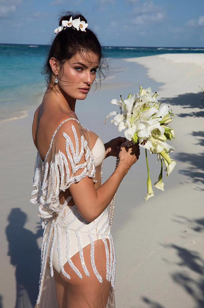 Casamento Isabeli Fontana e Di Ferrero vestido