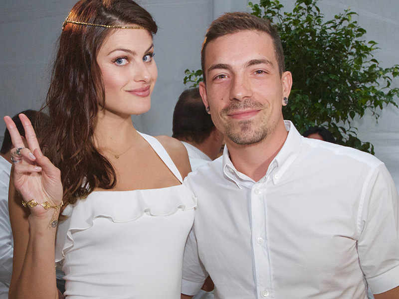 Casamento de celebridades Isabeli Fontana e Di Ferrero