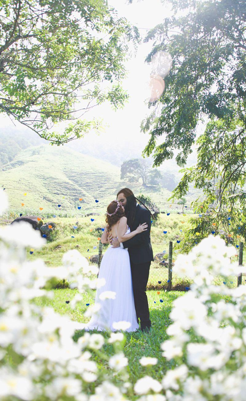 Casamento real Esther e Lucas amor a primeira vista