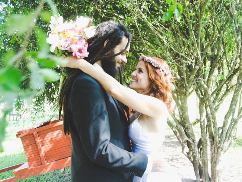 Casamento real Esther e Lucas decoração