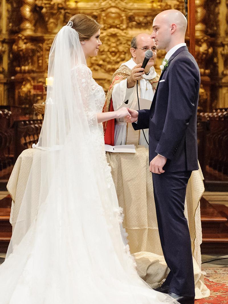 Casamento real Maria Antonia e Diego cerimônia