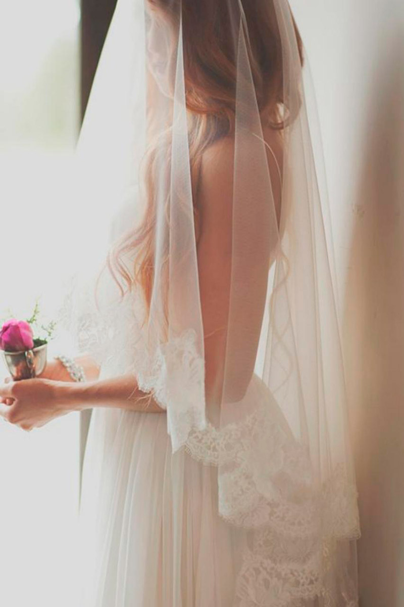 Conheça 10 origens e significados casamento véu