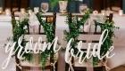 Decoração Como decorar a cadeira dos noivos