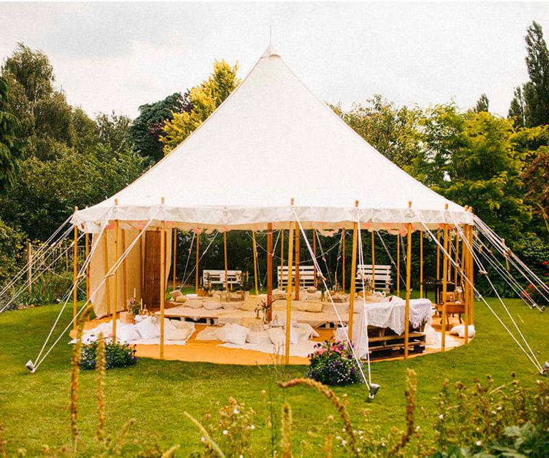 Decoração de tendas Como usar no casamento