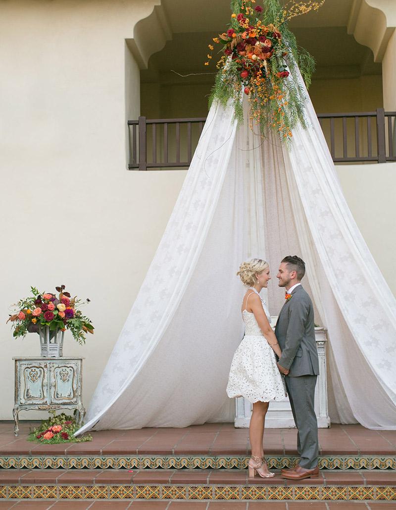 Decora o de casamento como usar tendas for Decoracion bodas originales