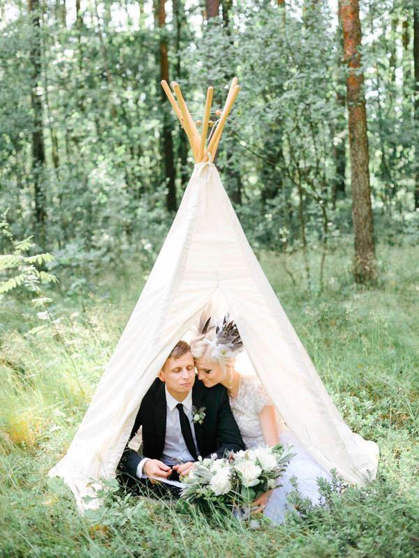 Decoração Como usar tendas no casamento