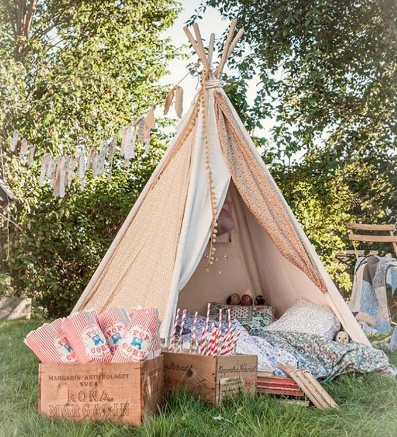 Decoração de casamento Como usar tendas casa