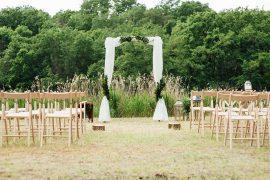Decoração de casamento no campo melhores e mais pinadas na Espanha